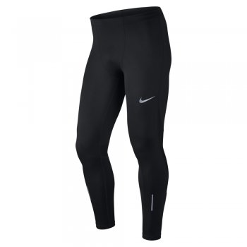 legginsy nike power running tights m czarne