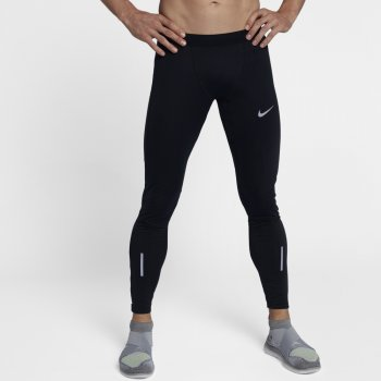 legginsy nike shield tech tight m czarne