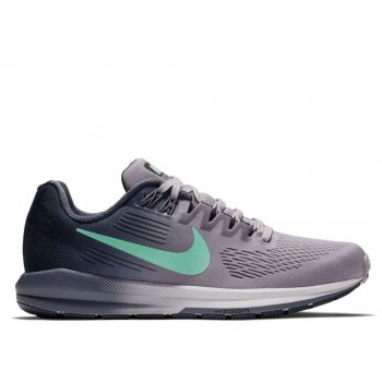 buty nike air zoom structure 21 w fioletowo-szare