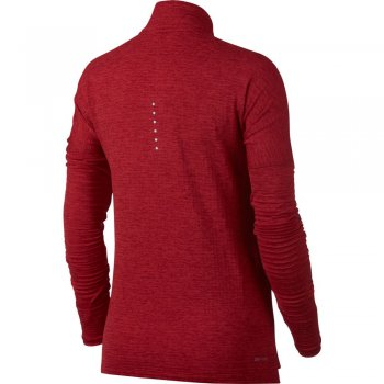 nike therma sphere running top czerwona