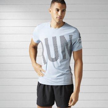 koszulka reebok running activchill m szara