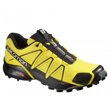 buty salomon speedcross 4 runmageddon m czarno-Żółte