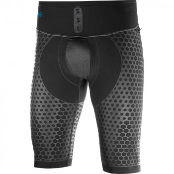salomon s-lab exo half tight m grafitowo-czarne