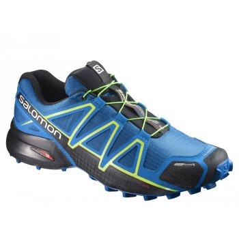 buty salomon speedcross 4 cs m niebiesko-czarne
