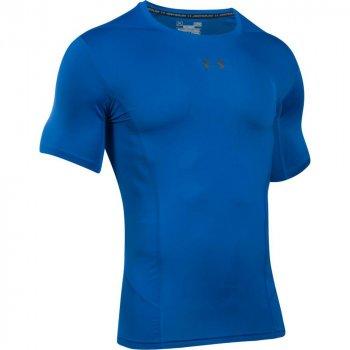 koszulka under armour heatgear supervent 2.0 m czarno-niebieska