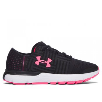 buty under armour speedform gemini 3 w różowo-czarne