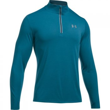 bluza under armour streaker quarter zip m turkusowa