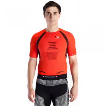 koszulka x-bionic the trick running shirt m pomarańczowa
