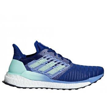 buty adidas solarboost w niebieskie
