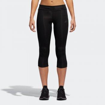 legginsy adidas response 3/4 tights w czarne