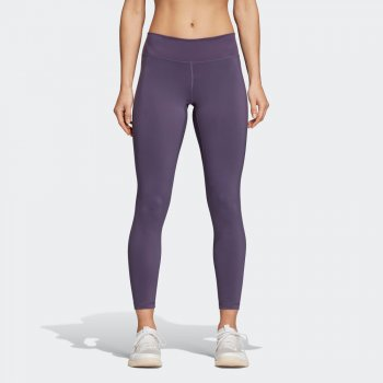 legginsy adidas believe this 7/8 tights w fioletowe