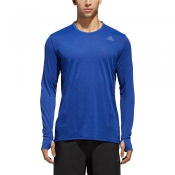 koszulka adidas supernova long sleeve tee m niebieska