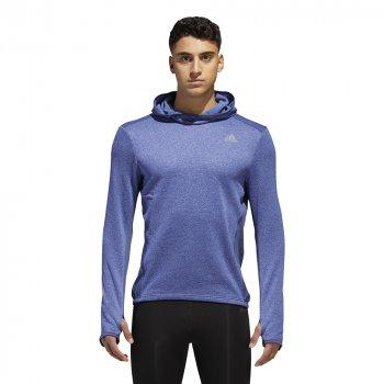 bluza adidas response astro hoodie m niebieska