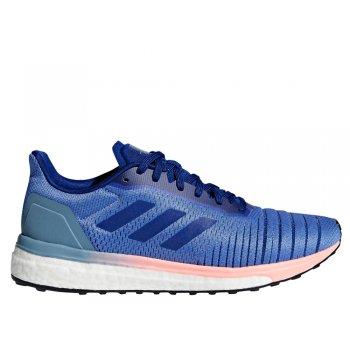 buty adidas solar drive w fioletowo-niebieskie