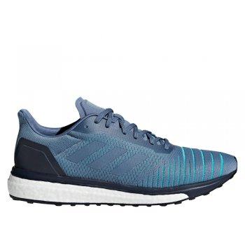 buty adidas solar drive m stalowo-niebieskie