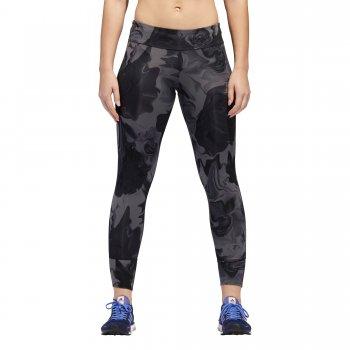 legginsy adidas response tights w czarno-szare