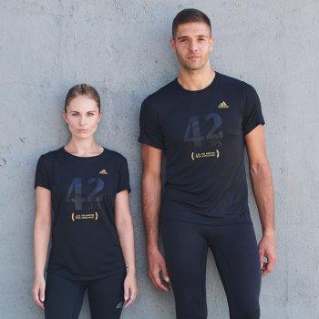 dedykowana koszulka 40. pzu maratonu warszawskiego w czarna