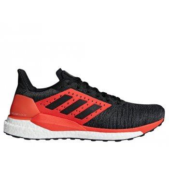 buty adidas solar glide st m czerwono-czarne