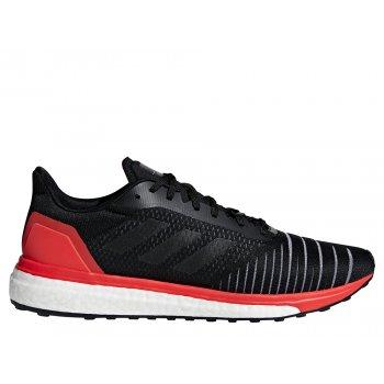 buty adidas solar drive m czerwono-czarne