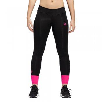 legginsy adidas response tights w różowo-czarne