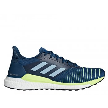 buty adidas solar glide m zielono-niebieskie