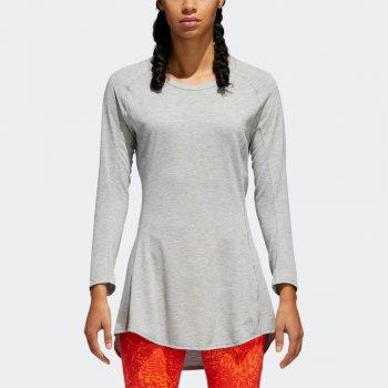sukienka adidas supernova pure w szara