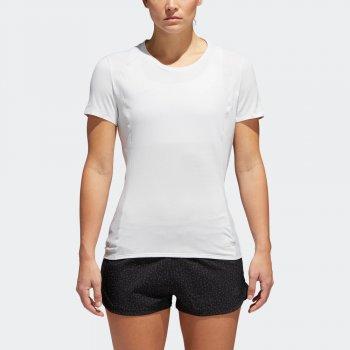 koszulka adidas fran supernova short sleeve tee w biała