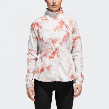 kurtka adidas supernova tko xpose graphic jacket w biała