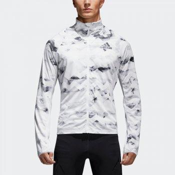 kurtka adidas adizero track jacket m biała