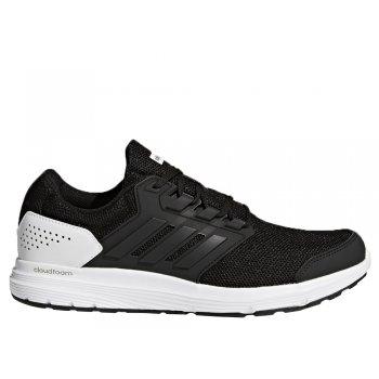 buty adidas galaxy 4 m biało-czarne