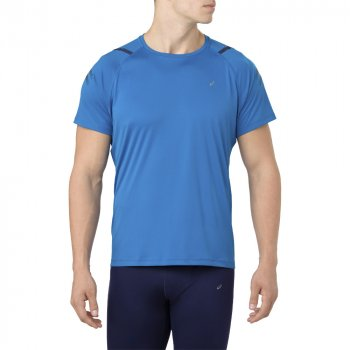 koszulka asics icon ss top m niebieska