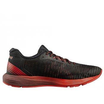 buty asics dynaflyte 3 m czerwono-czarne