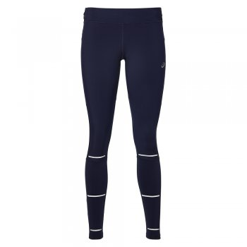 legginsy asics lite-show winter tight w granatowe