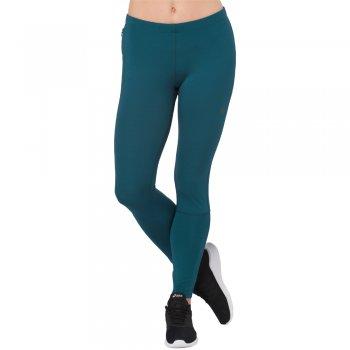 leginsy asics 7/8 tights w turkusowe