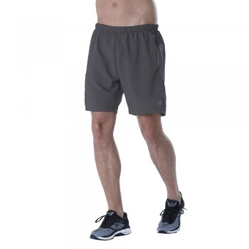 spodenki asics 7 inch shorts m szare