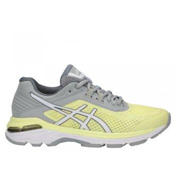 buty asics gt-2000 6 w szaro-Żółte