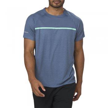 koszulka asics short sleeve top m ciemno-niebieska