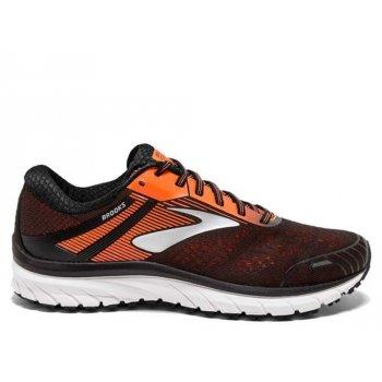 buty brooks adrenaline gts 18 m czarno-pomarańczowe