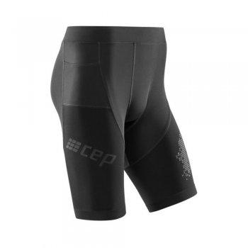 spodenki cep run shorts 3.0 m czarne