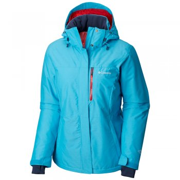 kurtka columbia alpine action insulated waterproof winter jacket w błękitna