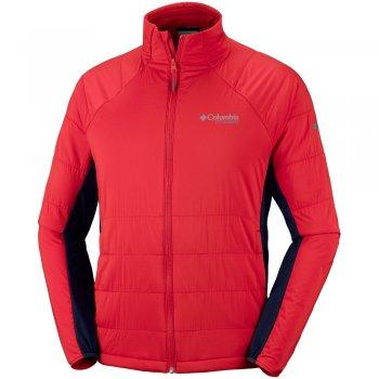 kurtka columbia alpine traverse jacket m czerwona