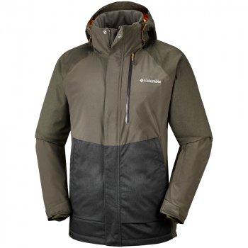 kurtka columbia wildside jacket m grafitowo-szara