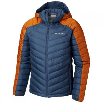 kurtka columbia horizon explorer hooded jacket m pomarańczowo-szara