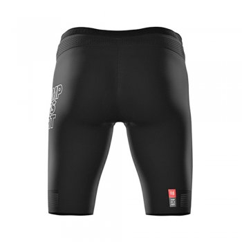 spodenki compressport triathlon under control short m czarne