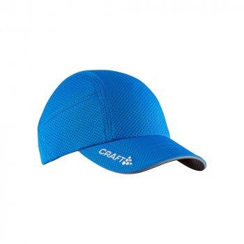czapka craft running cap niebieska