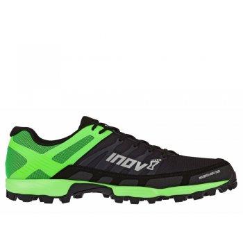 buty inov-8 mudclaw 300 m czarno-zielone