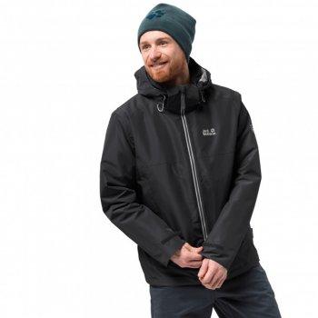 kurtka jack wolfskin north fjord jacket 3-in-1 hardshell m czarna