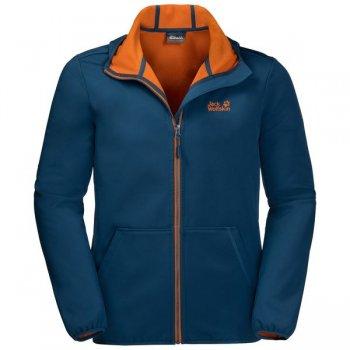 kurtka jack wolfskin essential peak jacket m morski-niebieski