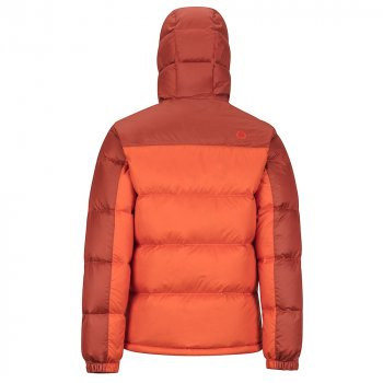 kurtka marmot guides down hoody m brązowo-pomarańczowa