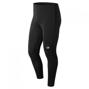 spodnie new balance mp81922bk core tight m czarne